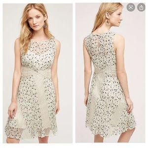 Anthropologie Floreat Windswept Dress